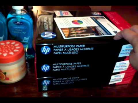 FREE HP Paper @ Office Depot!!
