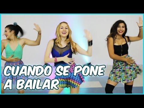 Rombai - CUANDO SE PONE A BAILAR | Coreografia | A bailar con Maga