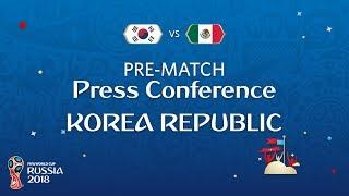 FIFA World Cup™ 2018 : KOR vs MEX : Korea Republic Pre-Match PC