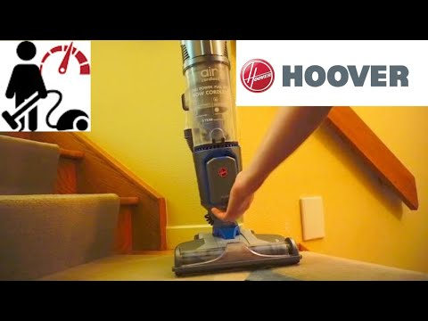Hoover Air Cordless  BH50140  vacuum review after first use