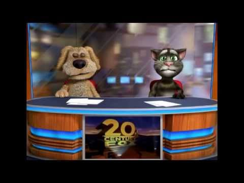 Talking Tom and Ben News: A Fight About The 20th Century Fox Logo