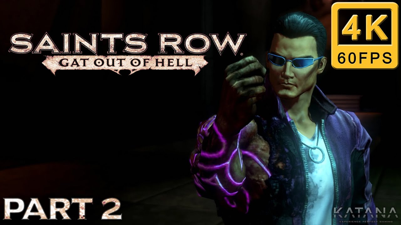 Saints Row: Gat out of Hell Walkthrough | Part 2 | Hardcore | Charge Halo