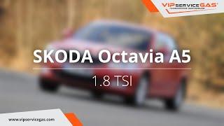 ГБО на Skoda Octavia A5 1.8 TSI, ГБО Zavoli (Италия). Газ на Шкода Октавия А5