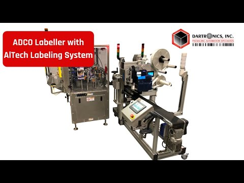 Adco Compact 4, AlTech ALcode Labeler And Dartronics Integration System