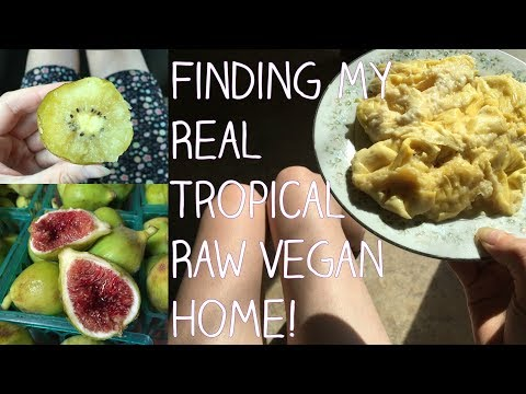 RAW VEGAN Alaskan:  leaving to find my real tropical warm home!