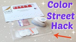 Color Street Hack - How to Turn Any Set into a French Manicure!