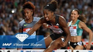 Keni Harrison breaks the world record with 12.20 at London Diamond League - Throwback