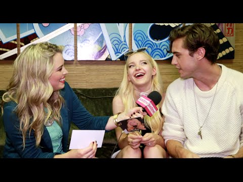 Justine Magazine: Dove Cameron & Ryan McCartan Play Game: