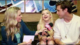 "Justine Magazine: Dove Cameron & Ryan McCartan Play Game: ""Dove OR Ryan??"""