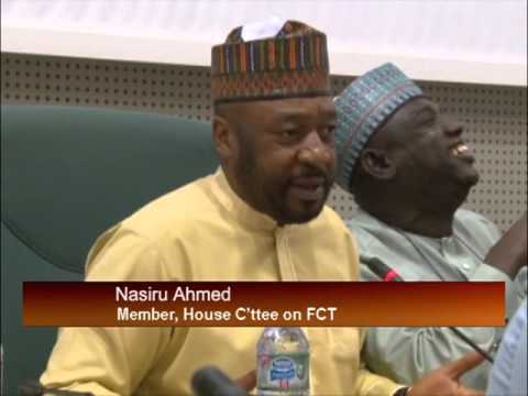 House Committee On The Federal Capital Territory Administration Queries FCTA