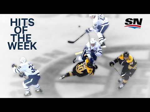 Hits of the Week:  Massive Matt Martin collision