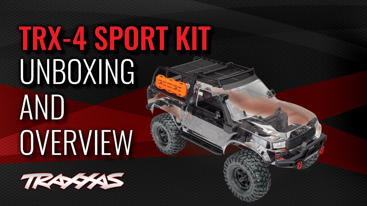 Traxxas Trx 4 Sport Assembly Kit Trx82010 4
