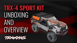 TRX-4 Sport Kit | Unboxing and Overview