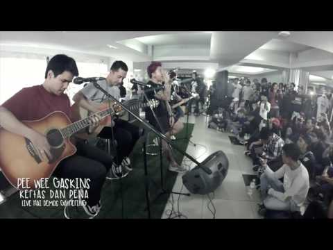 Pee Wee Gaskins – Kertas dan Pena (Live Acoustic at HAI Magazine)