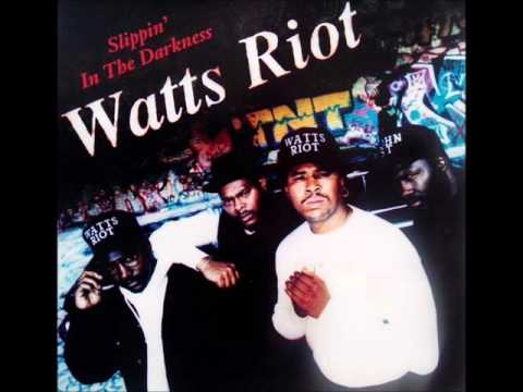 Watts Riot - Slippin In The Darkness