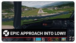 Prepar3D v4.2 | EPIC APPROACH INTO INNSBRUCK! | PMDG 737-800NGX