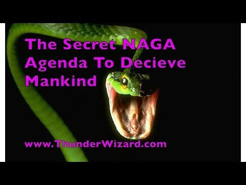 The Secret Naga Agenda to Deceive Mankind - The Reptilian Conspiracy - How to Defeat Reptilians