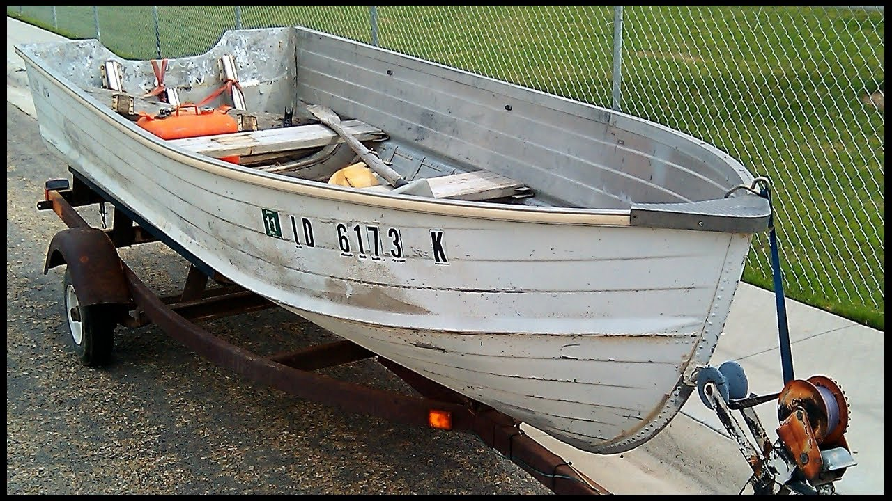 Boat Restoration Project Quot Before Quot Youtube