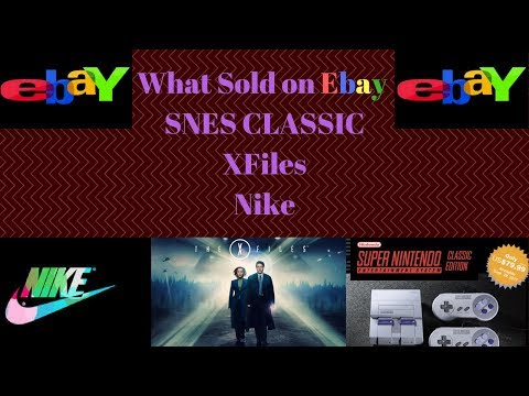 Snes Classic What Sold On Ebay $1,000 Welcome To Q4 - YT