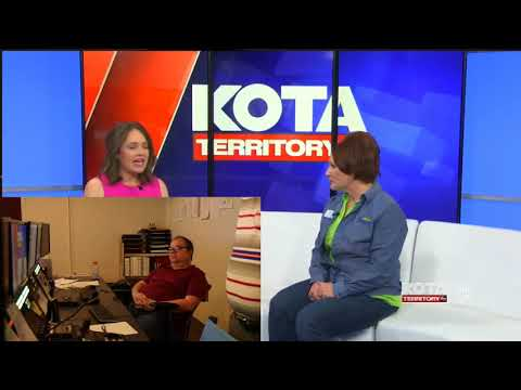KOTA News noon broadcast - Behind the Scenes