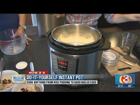 Rice Pudding Using An Instant Pot