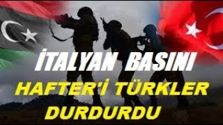 İtalyanlar Yazdı Libya'nın Kaderini Türkler Değiştirdi! Türkiye Masadaki Kartları Değiştiren Ta
