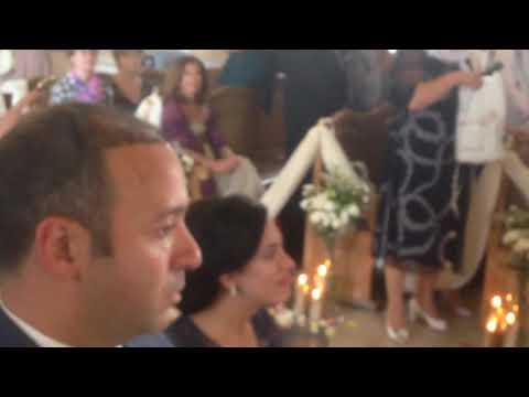 Венчание копта и русской девушки в Армянской церкви. Часть 2