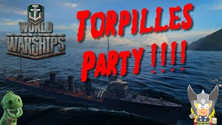 Torpilles Party !!! - Isokaze - World of Warships