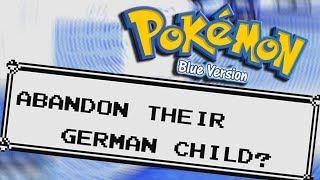 Pokémon Blue badly translates everything