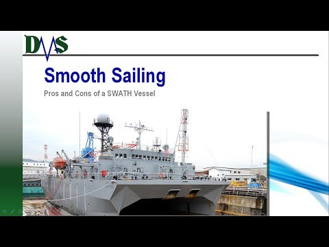 Smooth Sailing:  Pros and Cons of a SWATH Vessel