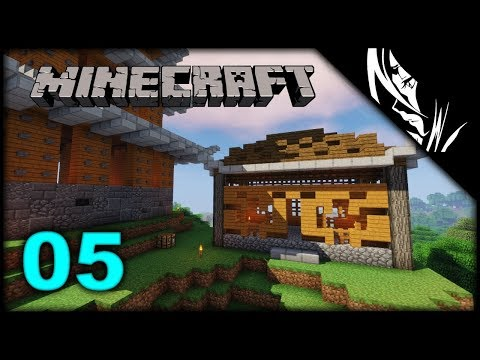 Let's Play Minecraft Survival :: The Monk's Living-Quarters | Episode 5