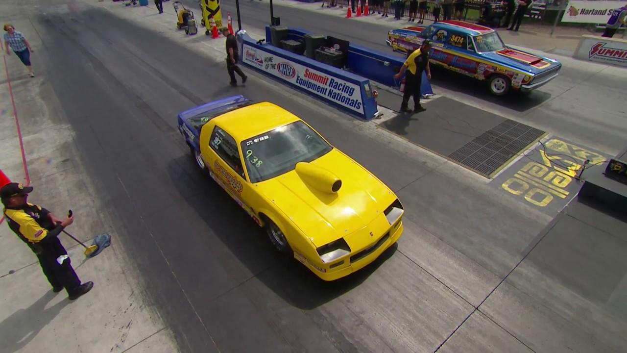 2018 Summit Racing Equipment Nationals Super Stock winner John DiBartolomeo