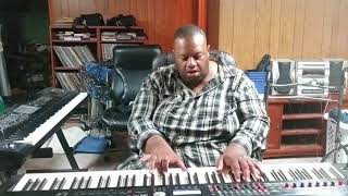 """People Need the Lord"" (Steve Green) performed by Darius Witherspoon (7/27/18)"