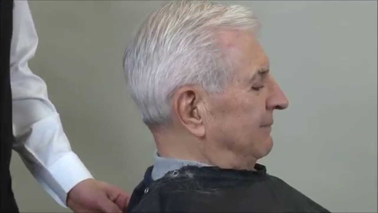 Mad Men Hairstyle  John Slattery Hairstyle Scissor Over