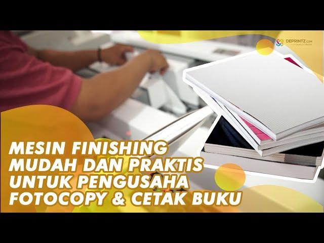 Mesin Jilid Buku, Mesin Usaha Terbaru dengan Peluang Bisnis Menjanjikan