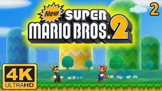 New Super Mario Bros. 2 4K Gameplay #2 | Citra Emulator