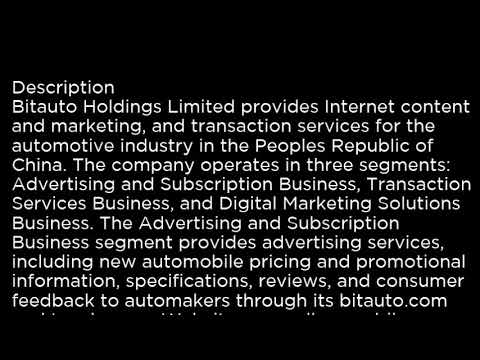 BITA Bitauto Holdings Limited BITA buy or sell Buffett read basic