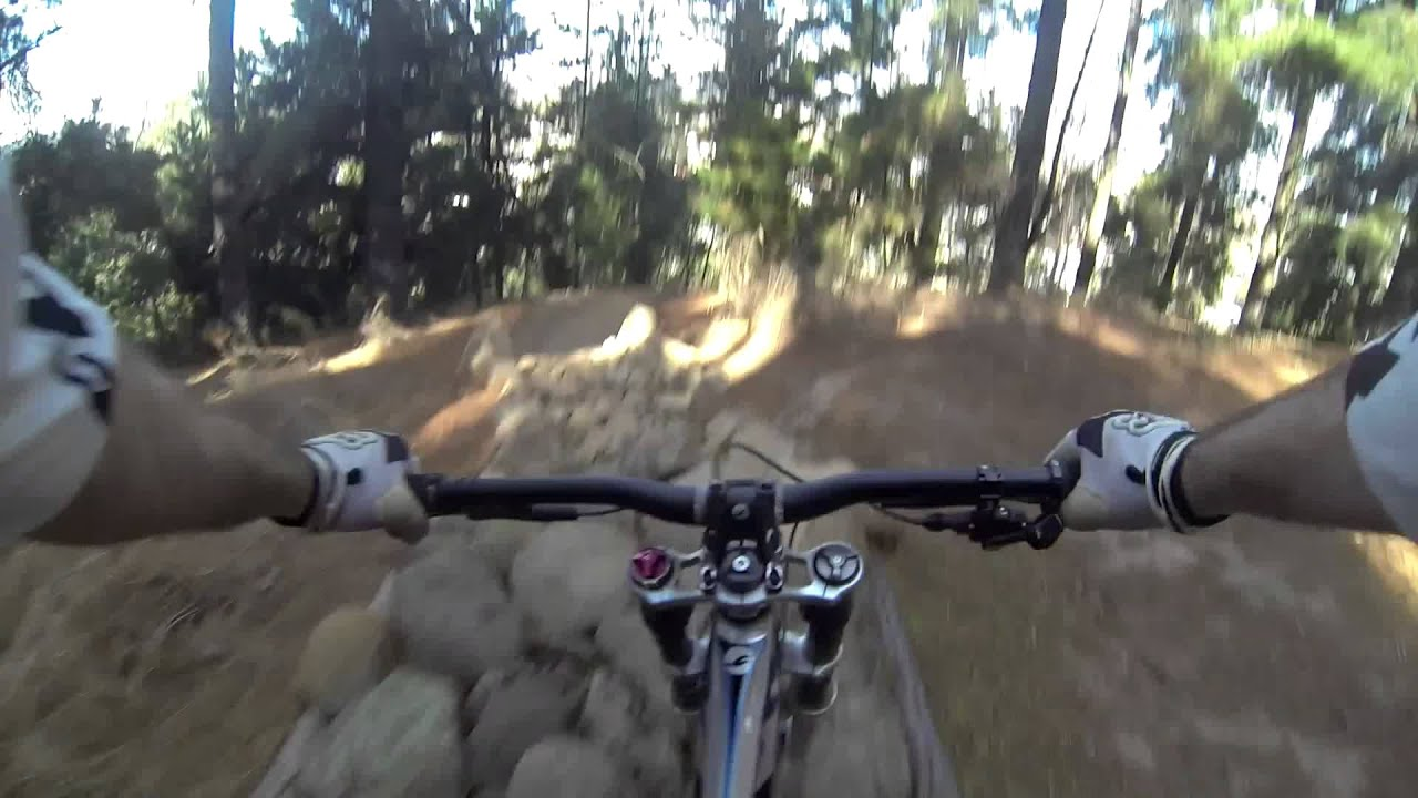 Black Hill Dh Track Previews Youtube