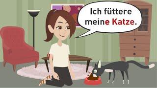 Deutsch lernen / Possessivartikel im Akkusativ und Dativ / Lektion 42