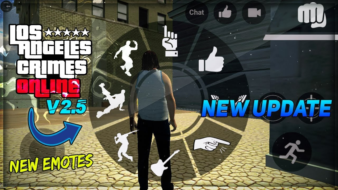 *YES!* (UPDATED) *NEW EMOTES* NEW UPDATE GTA 5 V2 5 ANDROID - LOS ANGELES  CRIMES | GTA 5 BY UNITY
