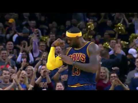 LeBron James 10 Major Plays of 2014-2015 NBA Season