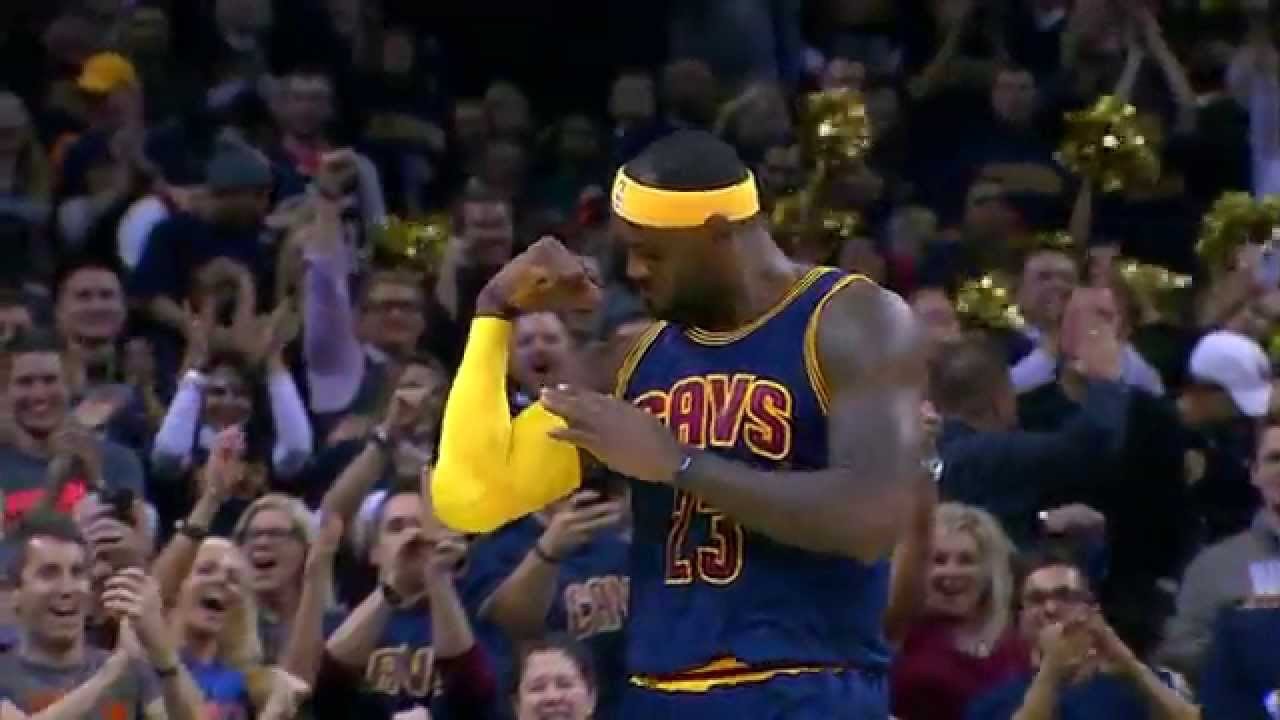 0875ee7f8 LeBron James Top 10 Plays of 2014-2015 NBA Season! - YouTube