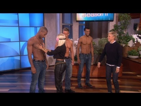 Nicki Minaj Gets Personal with Some Hunks
