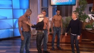 Repeat youtube video Nicki Minaj Gets Personal with Some Hunks