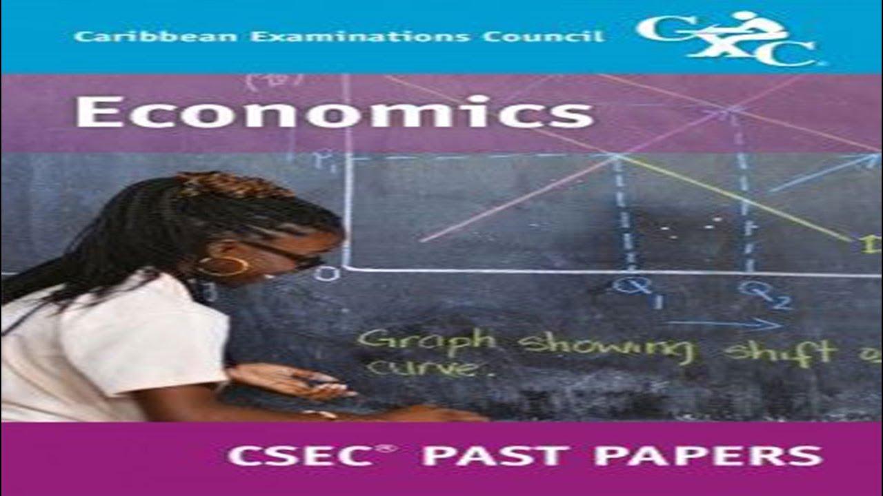 Download CSEC Economics Past Paper: MAY/JUNE 2016 PAPER 1