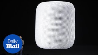 Apple launches Homepod smart speaker - Daily Mail