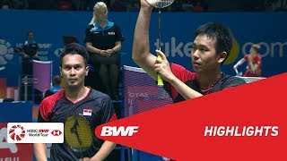 BLIBLI Indonesia Open 2019 | Round of 32 MD Highlights | BWF 2019