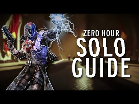 Zero Hour Solo Guide