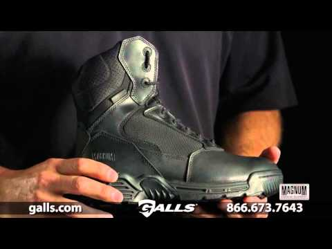 "Magnum 8"" Stealth Force Side Zip Waterproof Composite Toe Boot at Galls - FW280"