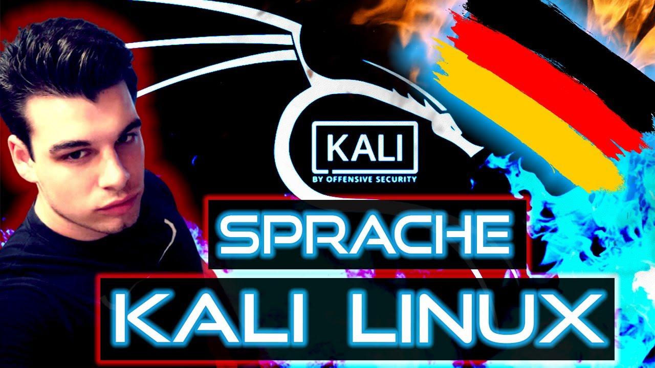 Kali Linux Sprache auf DEUTSCH umstellen [2021 Tutorial